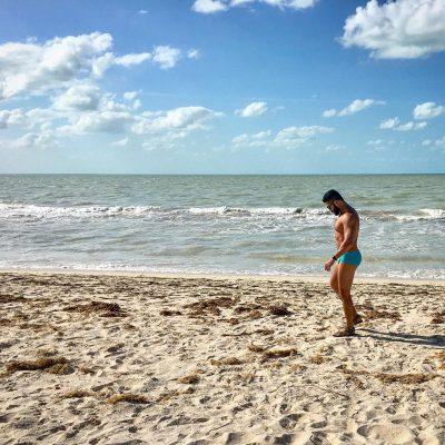 CELESTUN BEACH BOY