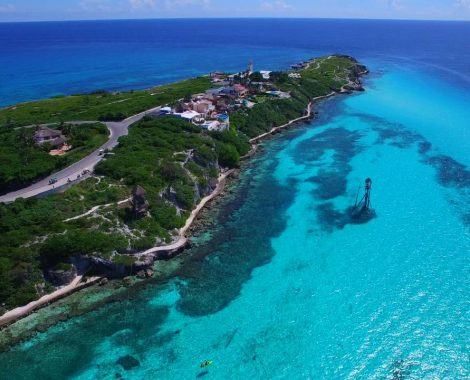ISLA MUJERES TOP VIEW