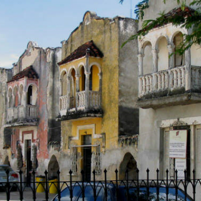 Old houses of Montejo