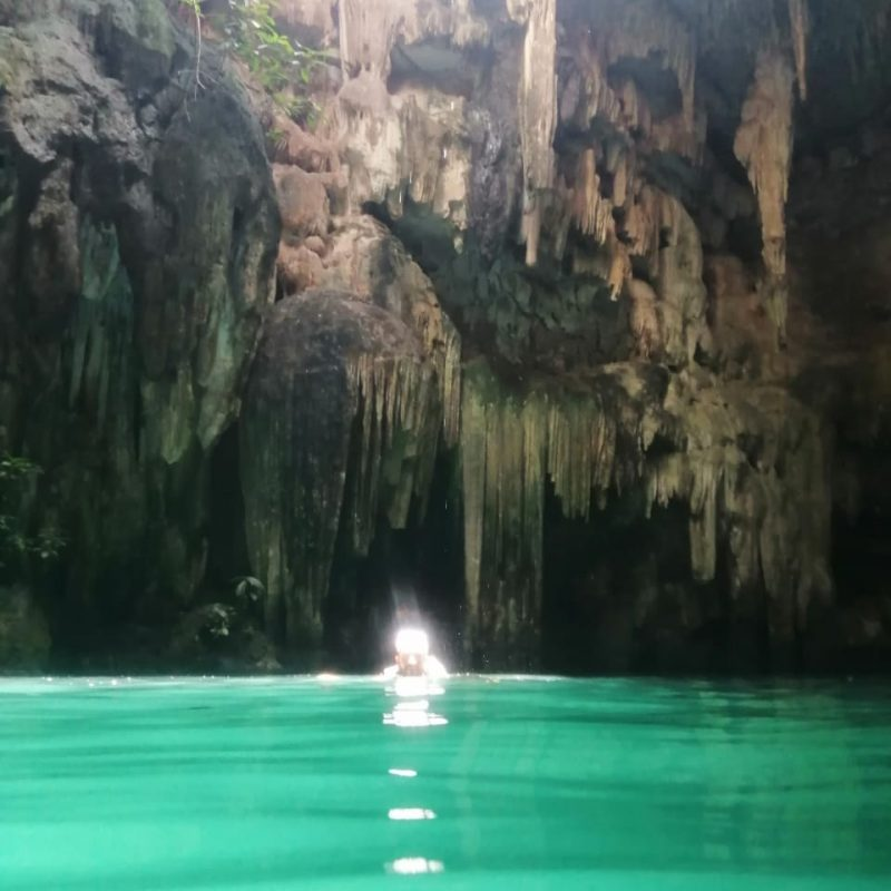 Swimming Cenote Light