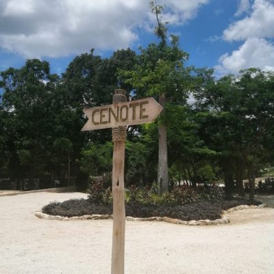 Cenote Sign